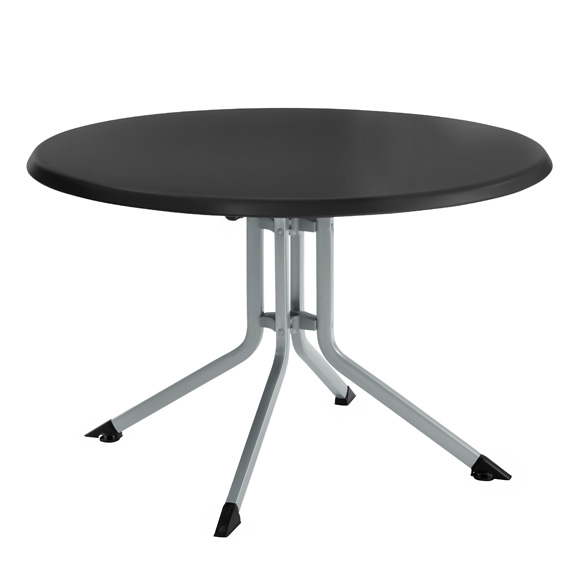 Kettalux Plus Resin Round Top Folding Table - 46