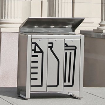 Trash Can | Rectangle | Lexicon