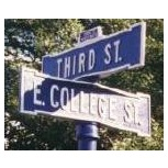 Street Sign | Decorative | Madison | 24x6