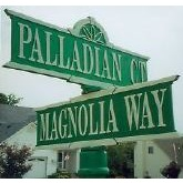 Street Sign | Decorative | Palladian