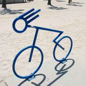 Bike Parking | Bike Rack Art | Fast Biker