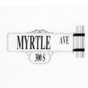 Street Sign | Decorative | Monrovia | 32x16
