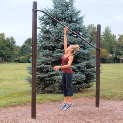 Outdoor Exercise and Fitness | High Jump