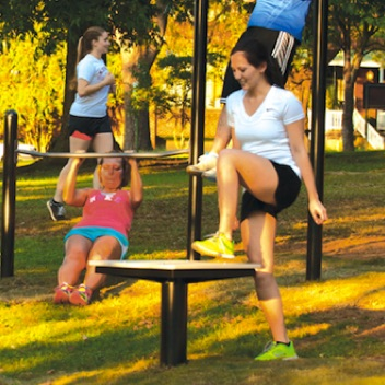 Outdoor Exercise and Fitness | Plyometric Box