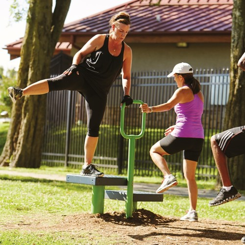 Outdoor Exercise and Fitness | Step-Up