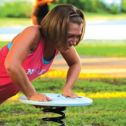 Outdoor Exercise and Fitness | Balance Board Station