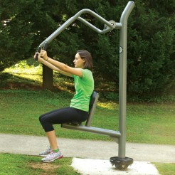 Outdoor Exercise and Fitness | Chest Press