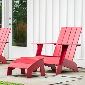 Outdoor Lounger Chair | Adirondack 4SFC