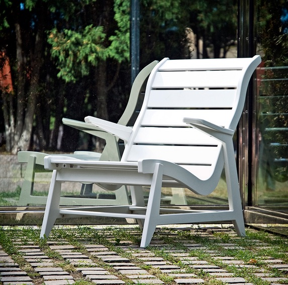 Outdoor Lounger Chair | Rapson HBL