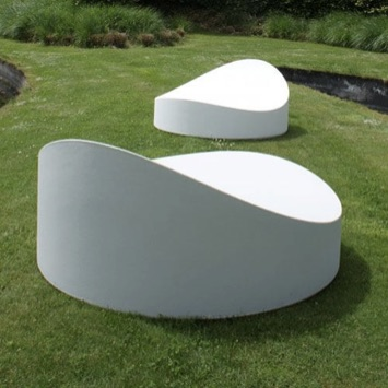 Outdoor Lounger | Circle
