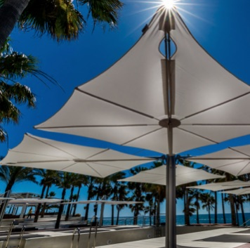 Outdoor Umbrella | Spectra Quattro
