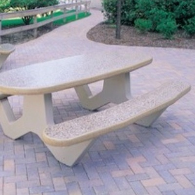 Concrete Table | Oval | 3130