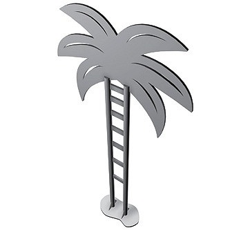 Bike Parking | Bike Rack Art | Palm Tree