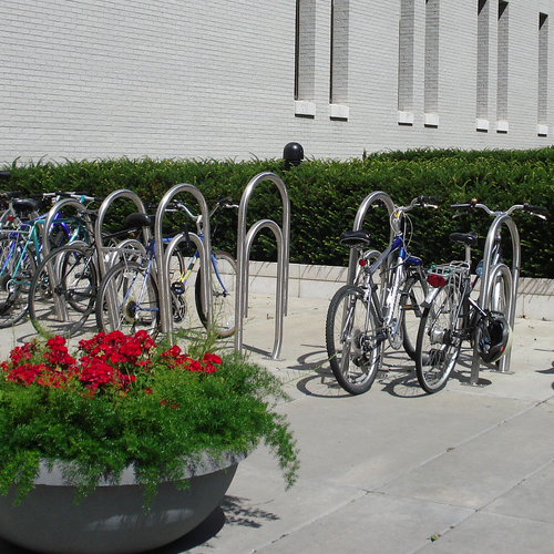 Bike Parking | Bike Rack Art | Paper Clip