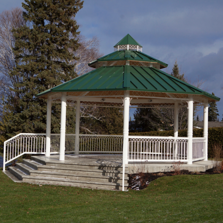 park shelter octagon streetscapes