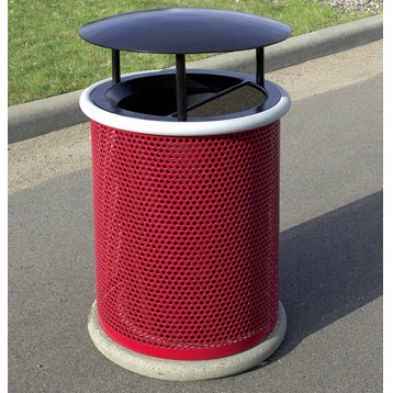Park Ash Trash | Round Perforated | 30 | RT