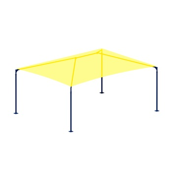 Park Sunshade | Rectangle | Hip