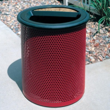 Park Ash Trash | Round Perforated | 30