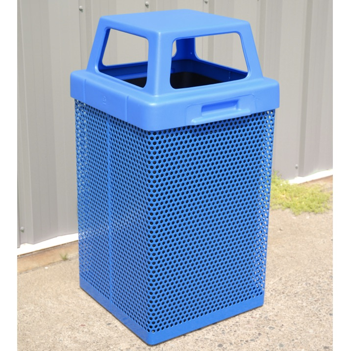 Park Trash | Square Perforated | 38 | 4