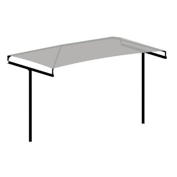 Park Sunshade | T Cantilever