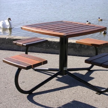 Picnic Table | Square | Wood | 1100