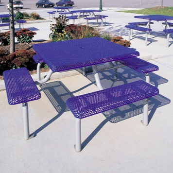 Picnic Table | Square |  Perforated | 1020