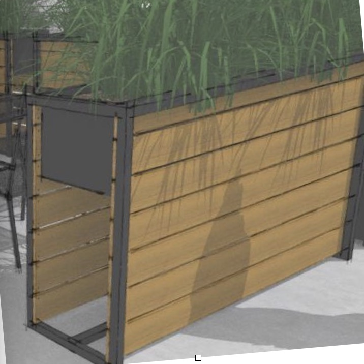 Green Wall | Planter Stand