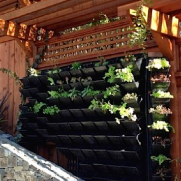 Planter Wall System | Gridwall Trays