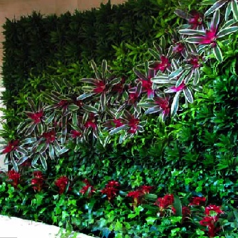 Planter Wall System | Interior Trellis