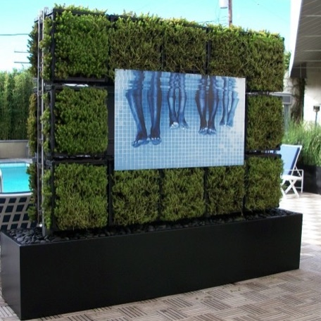 Planter Wall System | Modular Grid