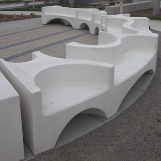 Precast Bench | Playful