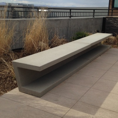 Precast Bench Cantilever 130 131 132 Streetscapes