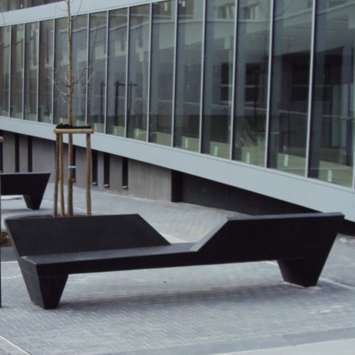 Precast Bench | Green Alley Duo