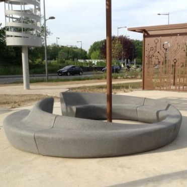 Precast Bench | In and Out