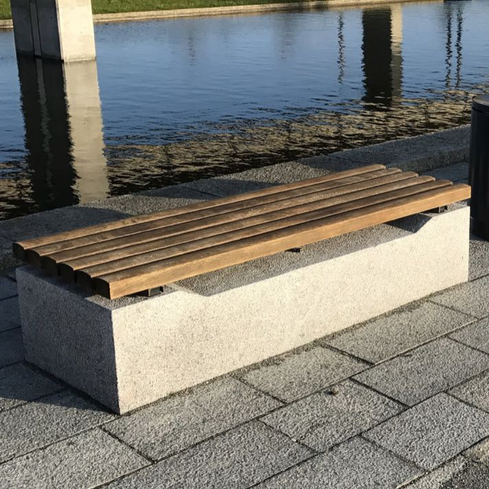 Precast Bench Sir 2 Streetscapes