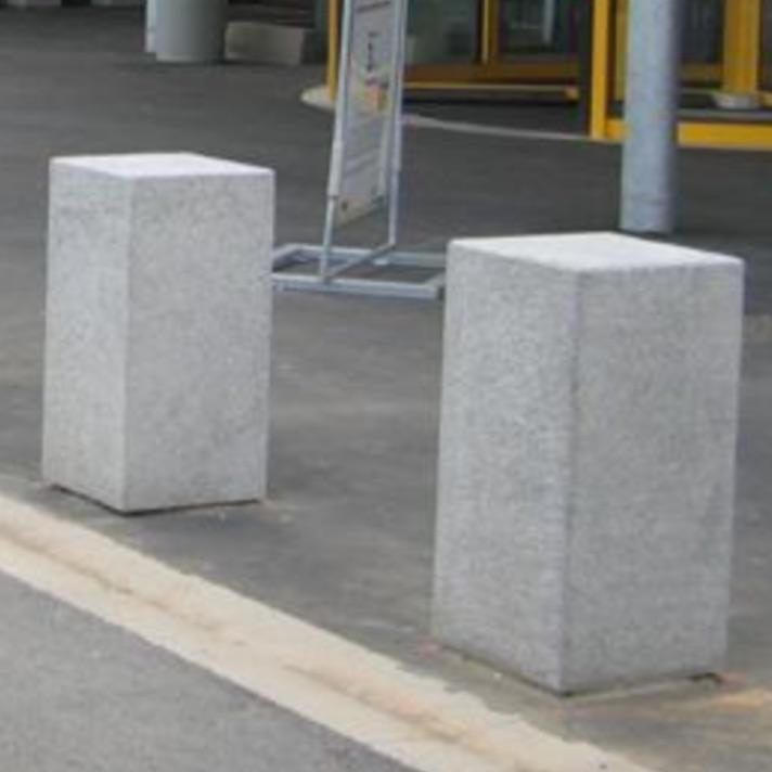 Bollard   Concrete   Cubo, Streetscapes