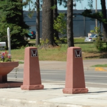 Bollard | Concrete | Tapered | 6034
