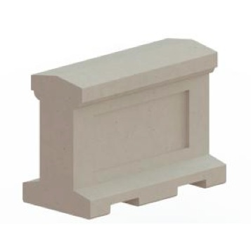 Bollard | Concrete | Rectangle | 8054