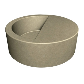 Concrete | Select | Round | 122