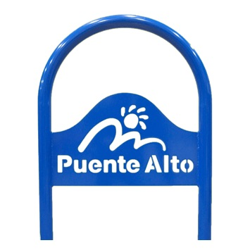 Bike Parking | Logo Rack | Puente Alto