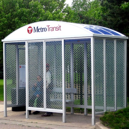 Bus Shelter | Reverse Curve