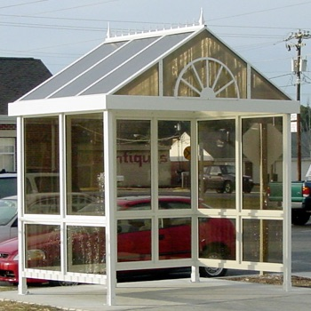 Bus Shelter | Reverse Gable