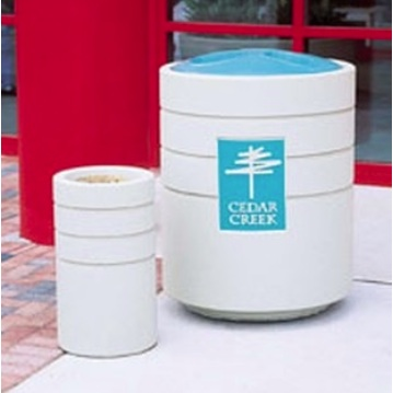 Trash Cans | Precast