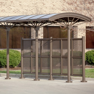 Bus Shelter | Shade Curved