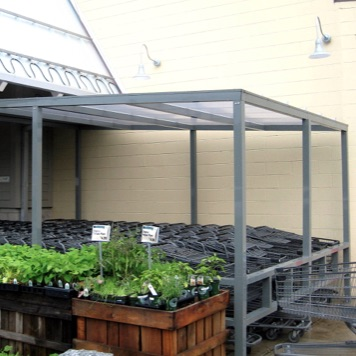 Shopping Cart Corral | Shed