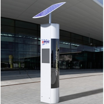 Bus Stop Signage | Solar Info Display