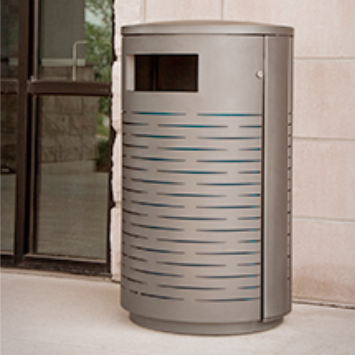 Trash Can | Streetscape | Logo | Strata