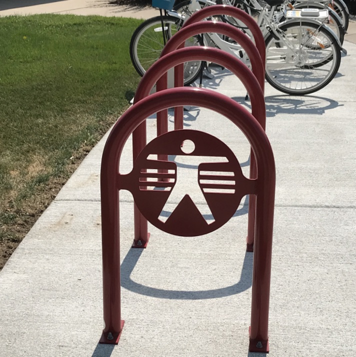 Bike Parking | Logo Rack | George