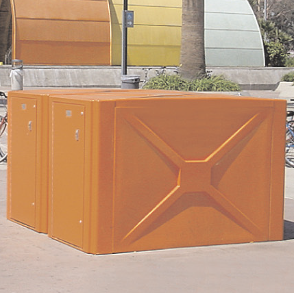 Bike Locker | Fiberglass | 352 P