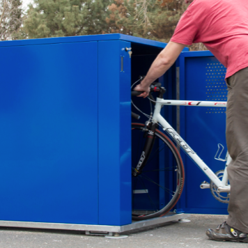 Bike Locker | Metal | 40